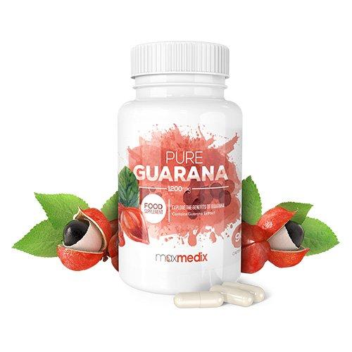 Pure Guarana 1200 Mg Kapseln – Hochdosiertes, Natürliches Nahrungsergänzungsmittel Aus Guarana Extrakt Zum Abnehmen – Tabletten Zur Erhöhung Des Energielevels Und Zur Anregung Des Stoffwechsels