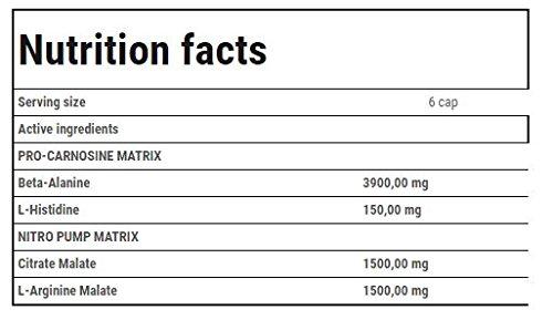 Trec Nutrition CARNOGENIC 1175, Pre-Workout Formel, 1er Pack (1 x 120 Kapseln)