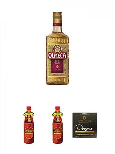 Olmeca-Gold-Tequila-07-Liter-Riemerschmid-Sangrita-Picante-05-Liter-Flasche-Riemerschmid-Sangrita-Picante-05-Liter-Flasche-Chateau-du-COQ-Prosecco-Kondom-1er