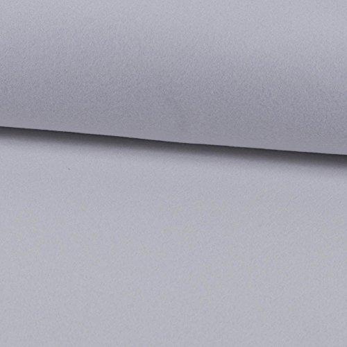 Deko- Bastelfilz 1mm weiß -Preis gilt für 0,5 Meter-