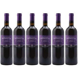 6x-075l-IMIGLYKOS-Prorogos-rot-Lafazanis-Lieblicher-Rotwein-aus-Griechenland-12-Vol