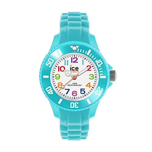 Ice-Watch-ICE-mini-Turquoise-Trkise-Jungenuhr-mit-Silikonarmband-012732-Extra-Small