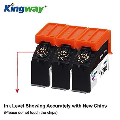 Kingway-202XL-Ersatz-fr-Epson-202XL-202-XL-Hohe-Kapazitt-Druckerpatronen-Kompatibel-fr-Epson-Expression-Premium-XP-6000-XP-6005-Patronen-1-Schwarz-1Foto-Schwarz-1Cyan-1Magenta-1Gelb