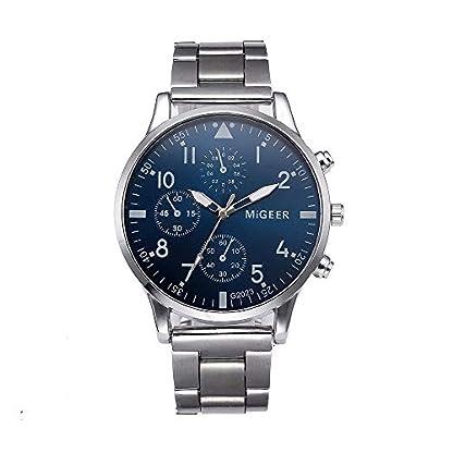 linqi1164-Herren-Uhren-Mode-Herren-Armbanduhr-Mnner-Quartz-Analog-Armbanduhren-fr-Herren-Uhr-fr-Mnner-Geschenk-Quarzuhr-Elegant-Business-Edelstahl-Herren-Kristall-Uhr-Fashion-Klassiche-Uhren