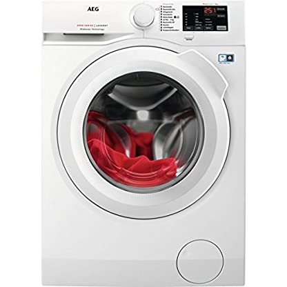 AEG-l6fb50489-autonome-Belastung-Bevor-8-kg-1400trmin-A-Wei-Waschmaschine–Waschmaschinen-autonome-bevor-Belastung-wei-drehbar-Oberflche-rechts-LED