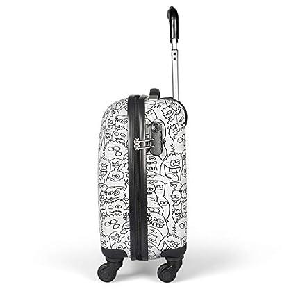 MasterGear-Koffer-fr-Kinder-Handgepck-Gre-Kinderkoffer-mit-4-Rollen-360-Grad-Trolley-Reisekoffer-Hartschalenkoffer-ABS-Zahlenschloss