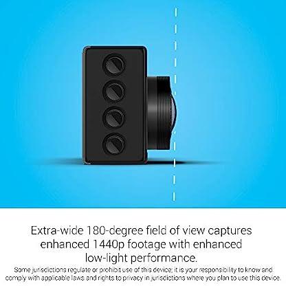 Garmin-Dashcam-66W–Automatische-Speicherung-von-Unfallvideos-2-Zoll-LCD-Farbdisplay-HD-1440p-180-Bild