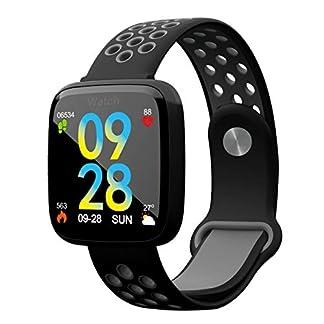 YLee-Fitness-Tracker-IP67-Wasserdichten-Grtel-Pedometer-sessing-Informationen-rufen-Erinnerung-kompatibel-iPhoneAndroid-Junge-Mdchen-Smart-Armband