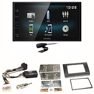 Kenwood-DMX-120BT-Bluetooth-Freisprecheinrichtung-USB-MP3-Autoradio-2-DIN-Moniceiver-Einbauset-fr-Suzuki-Swift-Sport-EZ-MZ