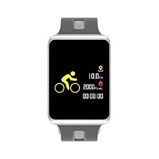 Voberry-Smart-Watch-Fitness-Tracker-Smart-Armband-Wasserdicht-Bluetooth-mit-Pulsmesser-Blutdruck-Smart-Armband-Fitness-Uhr-Aktivitt-Tracker-Schrittzhler-Schrittzhler-Sport-Schlaf-Monitor