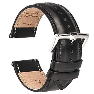 BE-Schnellverschlu-Uhrenarmbnder-Leder-Armbnder-fr-Herren-und-Damen-im-eleganten-Stil-fr-traditionelle-und-intelligente-Armbanduhren-18-mm-20-mm-22-mm-Breite-erhltlich
