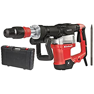 Einhell-Abbruchhammer-TE-DH-1027-1500W-1900-1min-Schlagzahl-SDS-Max-Werkzeugaufn-Softgriff-Anti-Vibrationssystem-langlebig-robust