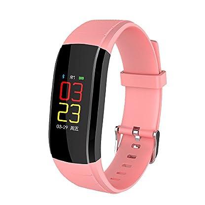 Aomili-UPX-Bunte-Smart-Wrist-Band-Schlaf-Sport-Fitness-Schrittzhler-Armbanduhr-Sport-Armband-Fitness-Tracker-Armband-Blutdruckuhr-Blutsauerstoff-Pulsmesser-Blutdruck-Herzfrequenz