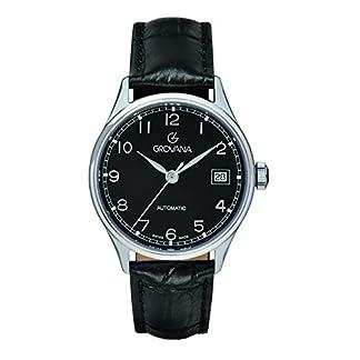 GROVANA-unisex-Armbanduhr-Analog-Automatik-Leder-31902537