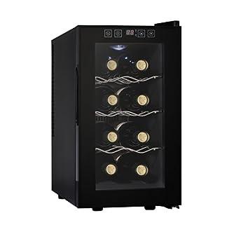 Acopino-BC25A-kompakter-Weinkhlschrank-fr-8-Flaschen-schwarz-verglaste-Tr-23-Liter