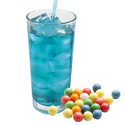 Bubble Gum blau Geschmack extrem ergiebiges Getränkepulver für Isotonisches Sportgetränk Energy-Drink ISO-Drink Elektrolytgetränk Wellnessdrink