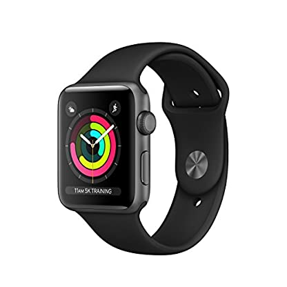 Apple-Watch-Series-3-42-mm-GPS-Aluminium-Gehuse-Space-Grau-mit-Sport-Armband-Schwarz-2017