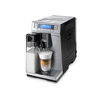 DeLonghi-PrimaDonna-XS-ETAM-36365MB-Kaffeevollautomat-Digitaldisplay-integriertes-Milchsystem-Lieblingsgetrnke-auf-Knopfdruck-Edelstahlfront-2-Tassen-Funktion-silberschwarz