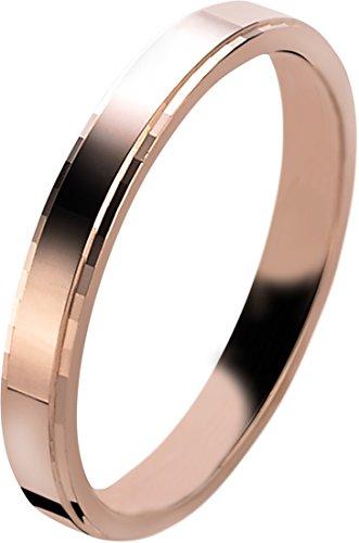 Orphelia Unisex -Einfache Hochzeits-Band 925-Sterling Silber Ringgröße 52 (16.6) OR9579/52