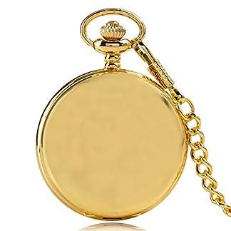 Luxus-Taschenuhr-Antike-Dad-Quarz-Taschenuhr-Geschenk-fr-Mnner-Frauen