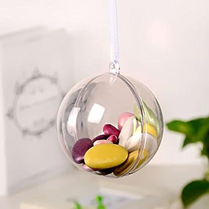 Amosfun-20pcs-Transparente-Kunststoff-Kugel-Bastel-Kugeln-Plastikkugeln-zum-Befllen-Hochzeit-Geburtstag-Party-Ornament-5cm