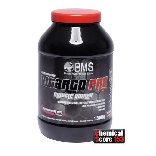 BMS Vitargo Pro Muscle Gainer 1500g Dose Schoko Oat