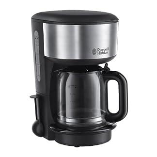 Russell-Hobbs-20130-56-Glas-Kaffeemaschine-Oxford-125l-Brausekopf-Technologie-1000-Watt-Edelstahlschwarz