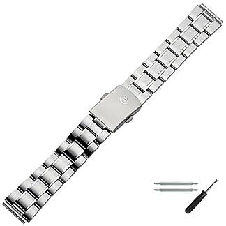 MARBURGER-Uhrenarmband-18mm-Edelstahl-Silber-Uhrband-Set-87101000020