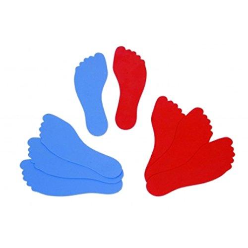 Kinder-Spiele-Spa-spiel-Spiele-Fuboden-Marker-Wirf-Unten-Fe-10er-Set
