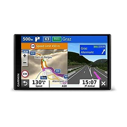 Garmin-Camper-780-MT-D-EU-Navi-Rahmenloses-Display-3D-Navigationskarten-fr-Europa-Pois-Sprachsteuerung