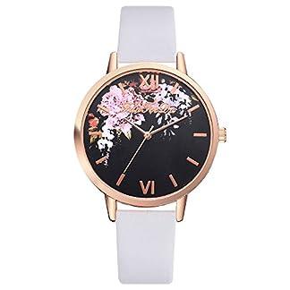 Yuwegr-Damen-Uhren-Mode-Glas-Legierung-Leder-Band-Uhr-Blumenmuster-Quarz-Analog-Armbanduhr-Armband