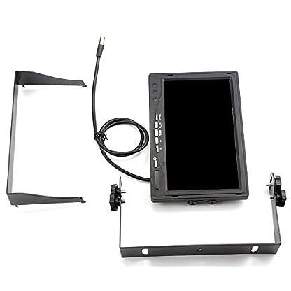 Rckfahrkamerasystem-4-polig-12-24-V-2-x-Wasserdichte-18-LEDs-Nachtsicht-Rckfahrkamera-mit-10-m-Luftfahrtkabel-178-cm-TFT-LCD-Monitor-fr-groe-LKW-Busse-Wohnmobile