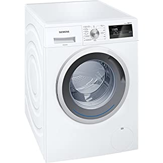 Siemens-iQ300-wm14-N061fg-autonome-Belastung-Bevor-7-kg-1390trmin-A-10-wei-Waschmaschine-Waschmaschinen-autonome-bevor-Belastung-wei-links-LED-180-