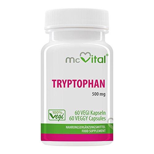 Tryptophan 500 mg – 60 Vegikapseln