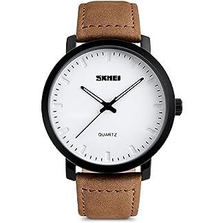 Herren-Armbanduhren-mit-Braun-Lederband-Mnner-Klassisch-Groes-Gesicht-Analogue-Quartz-Uhr-Wasserdichte-Mode-Casual-Business-Kleid-Uhren-mit-Datum-Kalender-Einfaches-Design-fr-Herren-von-VDSOW
