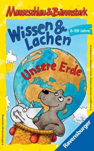 Ravensburger-23289-Mauseschlau-und-Brenstark-Wissen-und-Lachen-Unsere-Erde-Mitbringspiel