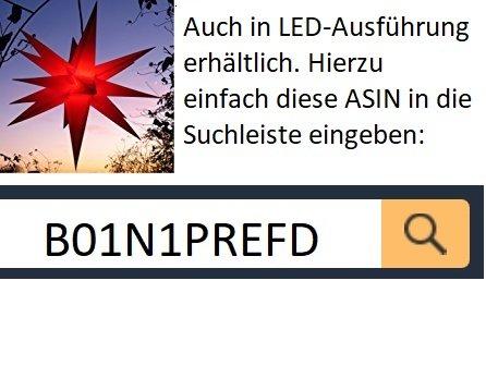 Auenstern-rot-beleuchteter-Stern-ca-55-cm-Weihnachtsstern-Leuchtstern-Faltstern-wetterfest-und-beste-Verarbeitung-kein-stranflliger-Trafo-ntig