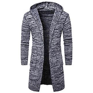 Zolimx-Herren-Slim-Fit-Kapuzenpullover-Dicker-Strickjacke-Kapuzenjacke-Fashion-Cardigan-Lange-Trenchcoat-Jacke