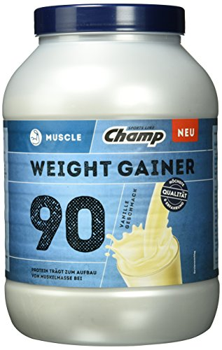 Champ Muscle Weight Gainer 90, Vanille