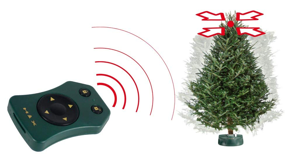 HTX-Happy-Tree-Xmas-Elektrischer-Christbaumstnder-mit-Fernbedienung-Baumhhe-bis-270-m-Stammdurchmesser-12-cm