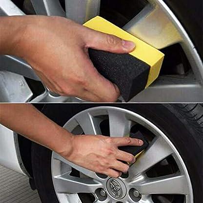 Godagoda-Autozubehr-Autowsche-Autoreinigung-Autowaschschwamm-Halbmondfrmige-Ecke-Autowerkzeug