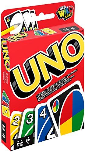 Mattel-W2087-Uno-Kartenspiel