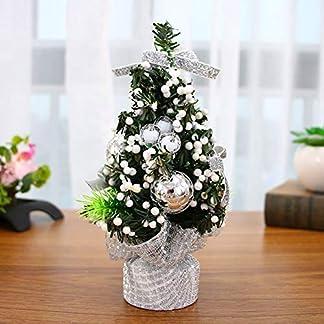 Matedepreso-Tischplatte-Weihnachten-Schreibtisch-Baum-GoldenRotSilber-Weihnachtsbaum-Heimbro-Einkaufen-Einkaufszentrum-Stangen-Weihnachten-Party-Dekoration-Silber