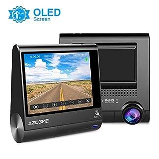 AZDOME-Autokamera-mit-170-Weitwinkelobjektiv-Dash-Cam-mit-GPS-Loop-Aufnahme-G-Sensor-Parkmonitor-Bewegungserkennung