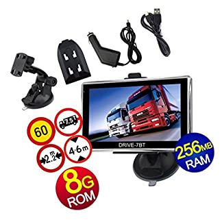 7-Zoll-Navigationsgert-DRIVE-7BT-Fr-LKWPKW-BUSWOHNMOBIL-und-CAMPER-Radarwarner-Kostenlos-Map-Update-Bluetooth-AV-IN-INKL-Rckfahrkamera-mit-15M-lang-kabel-Von-Electronics-Master