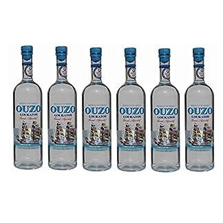 6x-feiner-Ouzo-Loukatos-je-700ml-38-Vol-aus-Griechenland-griechischer-Destillat-Likr-Tresterbrand-Trester-Uso-Anis-Schnaps-Patras-2x-Probiersachets-Frappe-oder-Olivenl
