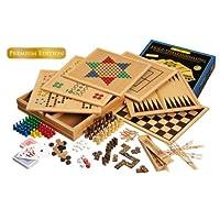 Philos-3101-Holz-Spielesammlung-Premium-Edition-mit-100-Spielmglichkeiten