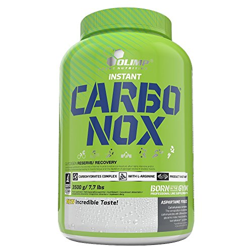 Olimp Carbo NOX – Kohlenhydrate, Geschmack Orange, 1er Pack (1 x 3.5 kg)
