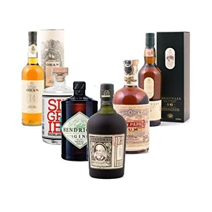 Delineros-Choice-Champions-Whisky-Rum-Gin-in-On-bzw-Inpacks-zB-Bushmills-Whiskey-10-Jahre-40-07l-Whisky-Flasche-2-Original-Bushmills-Glser-in-GP