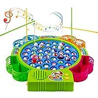 Angelspielzeug-Fischspielzeug-Spielzeug-Kinder-Drehbar-mit-Angelrute-Set-Geschenk-fr-Mdchen-Jungen-Kinder-3-4-5-Jahre